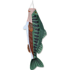 WINDSOCK--52 in. Large Mouth Bass Fish Windsock by Premier Designs
