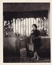 RAQUEL TORRES Original CANDID Hollywood Home Vintage 1930 MGM THE SEA BAT Photo
