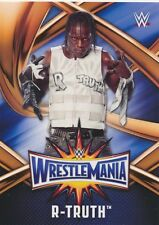 #39 R-TRUTH 2017 Topps WWE Road Wrestlemania ROSTER