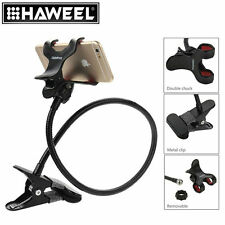HAWEEL Flexible Long Arm Universal Cell Phone Holder Lazy Brack W Clamping Base