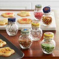 Vintage Floral Medley Spice Jars With Lids Mini Jar Set Pioneer Woman 6 Pieces