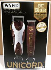 Wahl Professional 5 Star Unicord #8242 Magic Clip & Razor Edger Combo, 2-Day Air