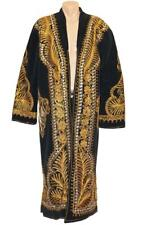 UZBEK AMAZING EMBROIDERY ON VELVET - CHAPAN ROBE