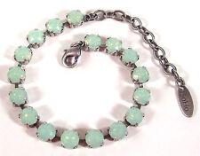SoHo® Armband mit geschliffenen Kristallen 6mm ss29 crystal chrysolite opal hell