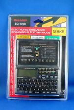 Vintage Sharp Electronic OrganizerZQ-170C 128KB - Brand New Sealed - Very Rare