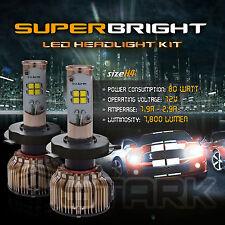 LED 80W 7800LM LED Kit CREE XT-E 6000K Headlight Dual Hi Lo Bulbs - H4 HB2 9003