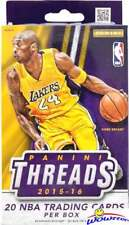 2015/16 Panini THREADS Basketball Factory Sealed Hanger Box!
