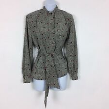 Country Sophisticates by Pendleton Womens Shirt Blouse Top Size 8 Floral