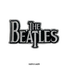 The Beatles Rock Band music Embroidered Iron On Sew On Patch Badge