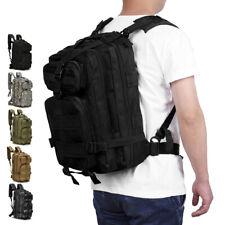 30L Outdoor Hombre Militar Táctico Mochila Bolso De Campamento Excursionismo Trekking