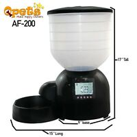 Refurbished Qpets AF-200 Large Capacity Automatic Pet Feeder 10 lbs