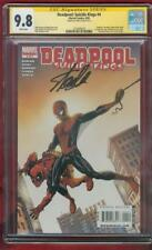 Deadpool Suicide Kings 4 CGC 9.8 SS Stan Lee Amazing Fantasy 15 homage cover