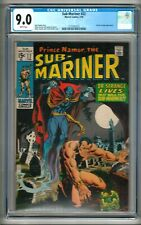 "Sub-Mariner #22 (1970) CGC 9.0  White Pages Thomas - Severin  ""Dr. Strange"""
