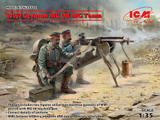 ICM 1/35 WWI Allemand MG équipe 08 MG # 35711