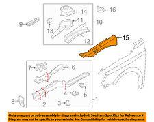 VW VOLKSWAGEN OEM Jetta Fender-Upper Rail Apron Panel Cover Right 5C6810136A