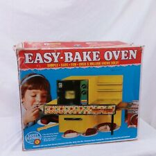 Vintage Easy Bake Oven Kenner Yellow 60s Original Box Collectible Toy
