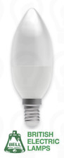 Bell E14 SES ~ LED Candle Bulb ~ 4w (25w) ~ 2700k Warm White ~ 250lm ~ Frosted