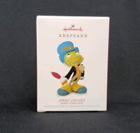 Jiminy Cricket 2018 Limited Edition Hallmark Keepsake Christmas Ornament Disney