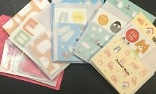 Animal Party MINI Letter Set - Kawaii Japanese Stationery cute writing paper