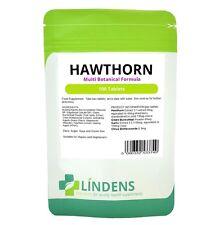 Hawthorn Complex 100 tablets Multi Botanical Formula w/ Garlic & Buckwheat