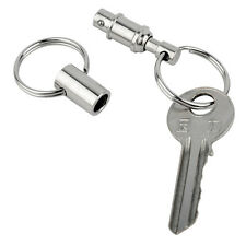 1PC Stylish Detachable Removable Pull Apart Quick Release Keychain Key Ring New