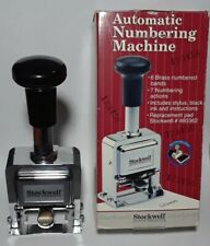 Stockwell Office Products Automatic Numbering Machine