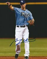 BEN ZOBRIST Tampa Bay Rays 8 X 10 Autographed Photo - W/COA