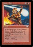 WOTC MtG Alliances Omen of Fire (R2) NM