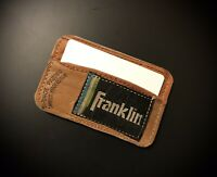 Franklin Leather Baseball Glove Card Holder
