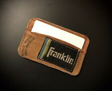 Franklin Leather Baseball Glove Card Holder