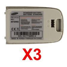 Lot Of 3 Oem Samsung Bst3258Sa Oem Battery For Samsung Sgh-E600, Sgh-E608