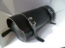 LARGE SIZE !!Motorcycle front forks  leather tool bag handmade in Australian.
