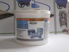 Cristal Rubber gomma siliconica trasparente X stampi 500gr bicomponente A+B 1:1