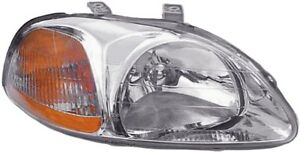 Headlight Lens-Assembly Right Dorman 1590643 fits 96-98 Honda Civic