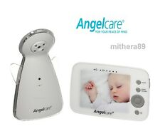 Angelcare AC1320 Digital COLOUR VIDEO Sound BABY MONITOR Zoom Camera DECT NEW