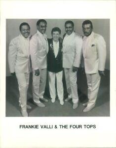 Photo: FRANKIE VALLI & THE FOUR TOPS 8x10 B&W the four season