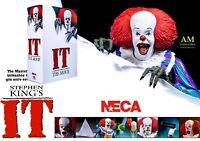 NECA - IT - ES 1990 MOVIE - ULTIMATE PENNYWISE VERSION 1- ACTION FIGUR - NEU/OVP