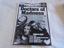 DOCTORS OF MADNESS - Publicité / Advert !! VINTAGE 70'S !!! TOURNEE !!!