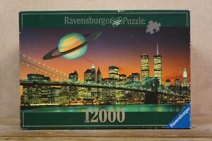 Complete RARE - Ravensburger Jigsaw Puzzle - 12000 piece- 1998 - New York