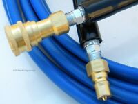 Carpet Cleaning 50ft Solution Hose 3000 PSI 275 Deg W/QD