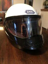 VTG SHOEI Japan S-28 Size S 1980 White Motorcycle Helmet D.O.T.
