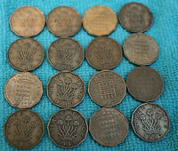 BRASS THREE PENCE 3D COINS DIFFERENT DATES FROM 1937-1967 CHOOSE HOW MANY
