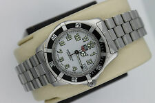 Tag Heuer WM1211 Sport White 2000 Classic SS Midsize Watch Womens Mens Mint Face