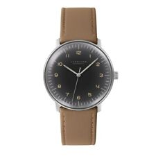 Junghans 027/3401.04 Max Bill Men's Automatic Watch - 027/3401.00 NEW