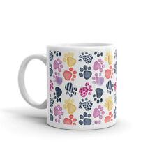 Pretty Paw Prints Cat Dog Animal Mum Gift High Quality 10oz Coffee Tea Mug #8157