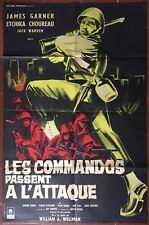 Affiche LES COMMANDOS PASSENT A L'ATTAQUE Darby's rangers JAMES GARNER 80x120cm*