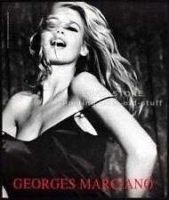 GUESS__CLAUDIA SCHIFFER__Original 1991 Print AD fashion promo__Georges Marciano