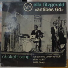 """ELLA FITZGERALD """"ANTIBES 64"""" FRENCH EP VERVE 1964"""
