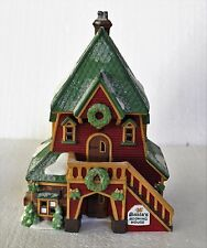 """Department 56, North Pole, """"Santa's Rooming House"""""""