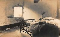Real Photo Postcard Man Blown Through Wall in Canton, Ohio Mill Explosion~111884